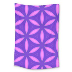 Pattern Texture Backgrounds Purple Large Tapestry