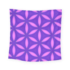 Pattern Texture Backgrounds Purple Square Tapestry (Small)