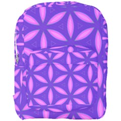 Pattern Texture Backgrounds Purple Full Print Backpack