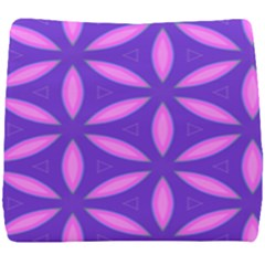Pattern Texture Backgrounds Purple Seat Cushion