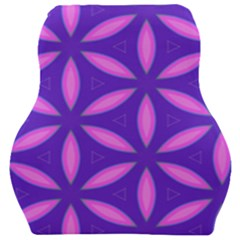 Pattern Texture Backgrounds Purple Car Seat Velour Cushion  by HermanTelo