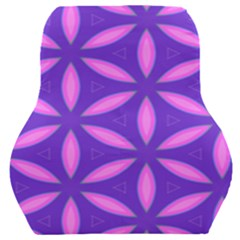 Pattern Texture Backgrounds Purple Car Seat Back Cushion