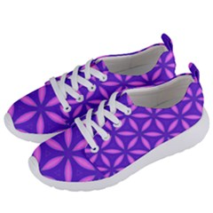 Pattern Texture Backgrounds Purple Women s Lightweight Sports Shoes
