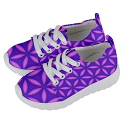 Pattern Texture Backgrounds Purple Kids  Lightweight Sports Shoes