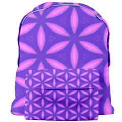 Pattern Texture Backgrounds Purple Giant Full Print Backpack