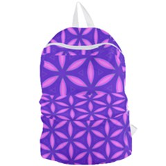Pattern Texture Backgrounds Purple Foldable Lightweight Backpack