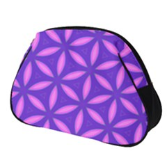Pattern Texture Backgrounds Purple Full Print Accessory Pouch (Small)