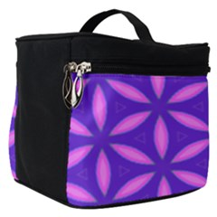 Pattern Texture Backgrounds Purple Make Up Travel Bag (Small)