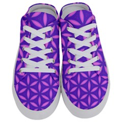 Pattern Texture Backgrounds Purple Half Slippers