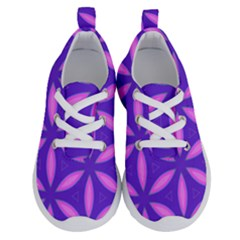 Pattern Texture Backgrounds Purple Running Shoes