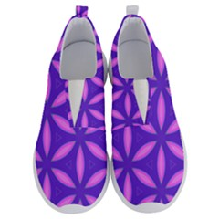 Pattern Texture Backgrounds Purple No Lace Lightweight Shoes
