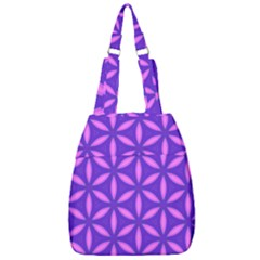 Pattern Texture Backgrounds Purple Center Zip Backpack by HermanTelo