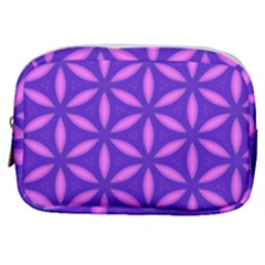 Pattern Texture Backgrounds Purple Make Up Pouch (Small)