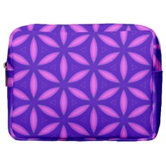Pattern Texture Backgrounds Purple Make Up Pouch (Large)