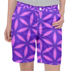 Pattern Texture Backgrounds Purple Pocket Shorts