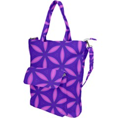 Pattern Texture Backgrounds Purple Shoulder Tote Bag by HermanTelo