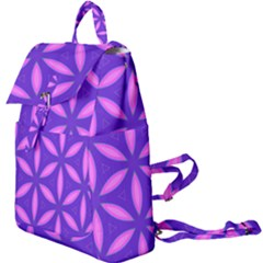 Pattern Texture Backgrounds Purple Buckle Everyday Backpack by HermanTelo