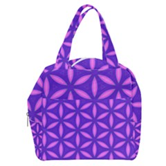 Pattern Texture Backgrounds Purple Boxy Hand Bag