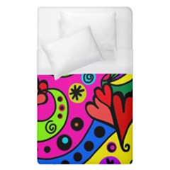 Seamless Doodle Duvet Cover (single Size) by Vaneshart