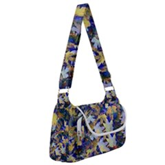 October Leaves In Blue Multipack Bag by bloomingvinedesign