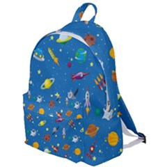 Space Rocket Solar System Pattern The Plain Backpack by Vaneshart