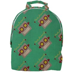 Toy Robot Mini Full Print Backpack