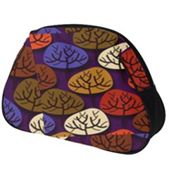 Tree Pattern Background Full Print Accessory Pouch (big)