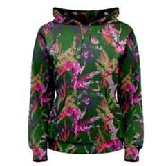 Vibrant Tropical Women s Pullover Hoodie