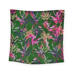 Vibrant Tropical Square Tapestry (small)