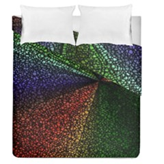 Abstract Colorful Pieces Mosaics Duvet Cover Double Side (queen Size)