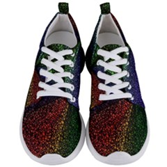 Abstract Colorful Pieces Mosaics Men s Lightweight Sports Shoes