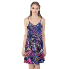 Multicolored Abstract Painting Camis Nightgown