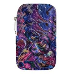 Multicolored Abstract Painting Waist Pouch (small)