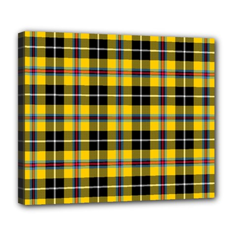 Cornish National Tartan Deluxe Canvas 24  X 20  (stretched)