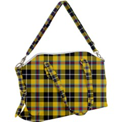 Cornish National Tartan Canvas Crossbody Bag