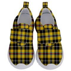 Cornish National Tartan Kids  Velcro No Lace Shoes by impacteesstreetwearfour