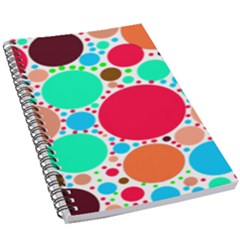 Dots 5 5  X 8 5  Notebook by impacteesstreetweareight