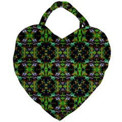 Abstract 1 Giant Heart Shaped Tote