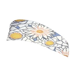 Flowers Pattern Lotus Lily Stretchable Headband