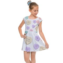 Hearts Kids  Cap Sleeve Dress