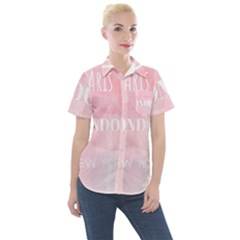 Paris Women s Short Sleeve Pocket Shirt