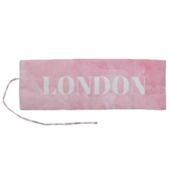 Paris Roll Up Canvas Pencil Holder (m) by Lullaby