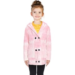Paris, London, New York Kids  Double Breasted Button Coat