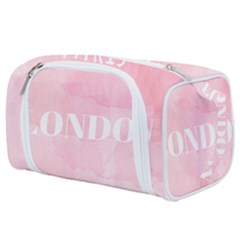 Paris, London, New York Toiletries Pouch by Lullaby