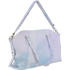 Pastel Eiffel s Tower, Paris Canvas Crossbody Bag