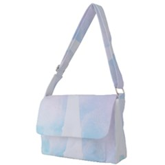 Pastel Eiffel s Tower, Paris Full Print Messenger Bag by Lullaby