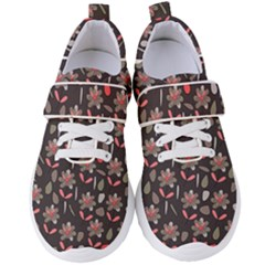 Zappwaits Flowers Women s Velcro Strap Shoes by zappwaits