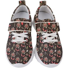 Zappwaits Flowers Kids  Velcro Strap Shoes by zappwaits