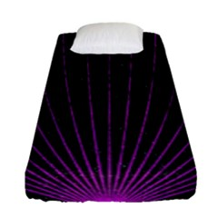Laser Show Festival Fitted Sheet (single Size)