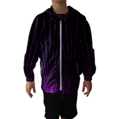 Laser Show Festival Kids  Hooded Windbreaker